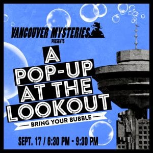 Private Events September Vancouver