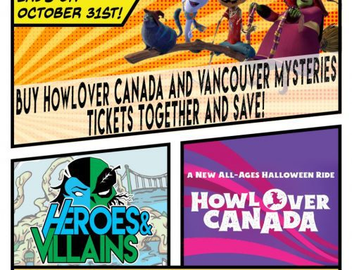 Buy HowlOver tickets with your Superhero Game and Save!