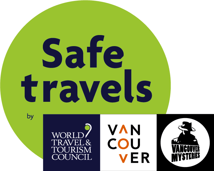 Safe Travels Tourism Vancouver Stamp